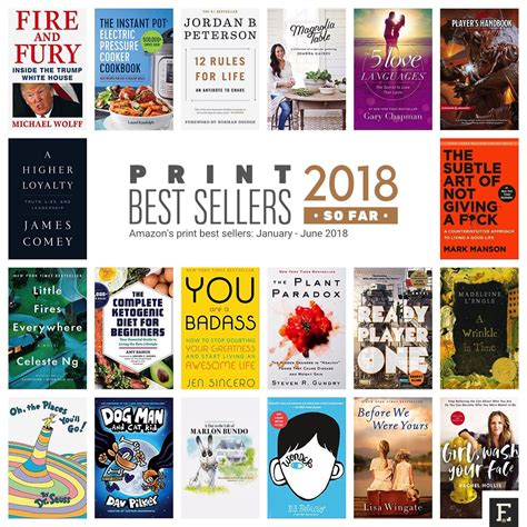 Best Sellers Books What Are Amazon S Top Book Bestsellers Of 2018 So Far
