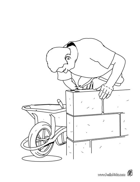 bricklayer coloring pages hellokidscom