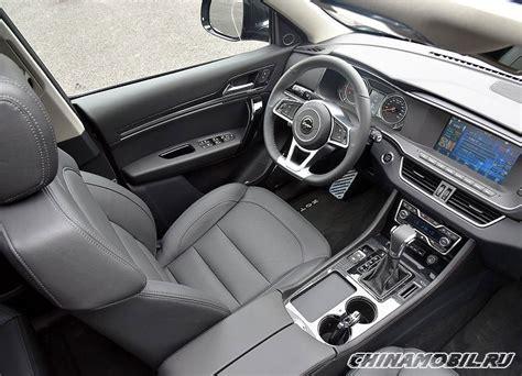 zotye  coupe interior