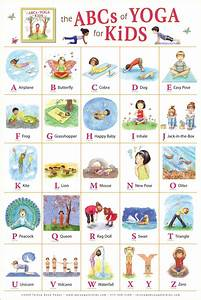 Yoga Pose Chart Poster The Abc Of Yoga What A Wonderful Way To Encourage