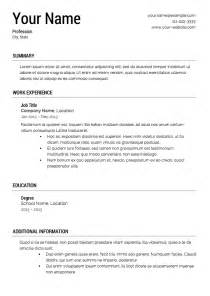 Template Resume Learnhowtoloseweight Net