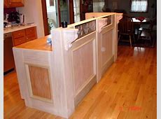 Kitchen Countertop Bar Designs How to Build a Bar in