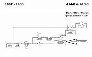 Tractor 1987 416-8 Wiring Detailed Pdf