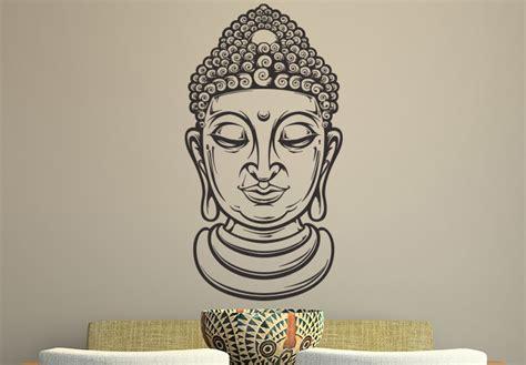 buddha wall decal buddhist home decor