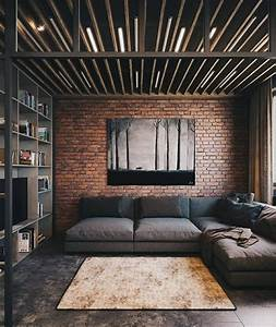 53, Stylish, And, Inspiring, Industrial, Living, Room, Designs