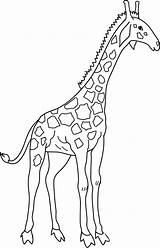 Bestappsforkids Giraffa sketch template
