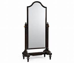 Ebonised Cheval Mirror (Full Length)