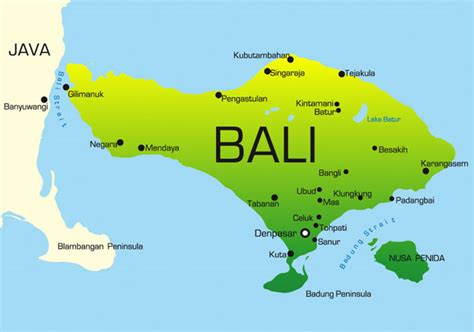 tanah lot bali map bing