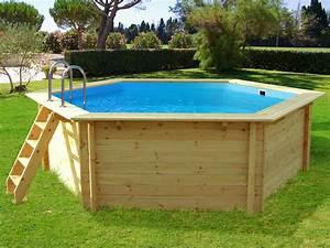 Piscine Bois Ronde : piscine bois hawai x m 54963 ~ Farleysfitness.com Idées de Décoration