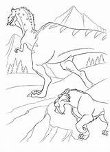 Diego Tiger Coloring Ice Age Tigre Colorare Colorear Disegni Malvorlagen Colorkid Era Dibujo Glaciale Dawn Dinosaurier Sind Dinosaurs Origen Dinosaurios sketch template