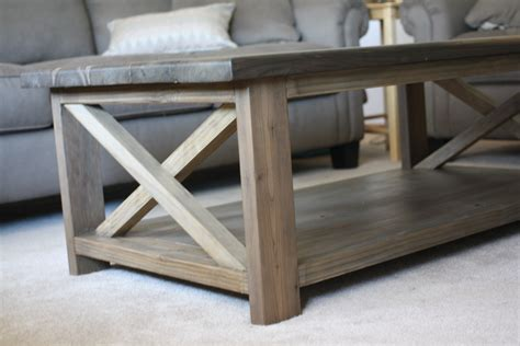 rustic coffee table plans woodworking buetheorg