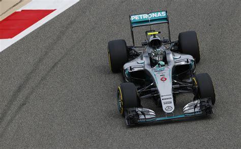 rosberg edges  raeikkoenen   bahrain grand prix win