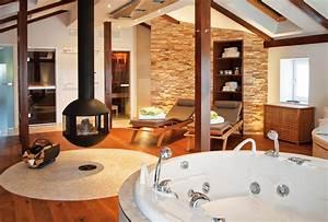 Sauna Für Badezimmer : badezimmer inspiration freistehende badewannen sind im trend ~ Watch28wear.com Haus und Dekorationen