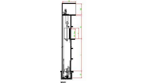 vertical wine descarga gratuita bloque autocad hueco de ascensor