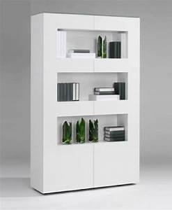 Bibliothèque Blanche Ikea : bibliotheque laquee ~ Teatrodelosmanantiales.com Idées de Décoration