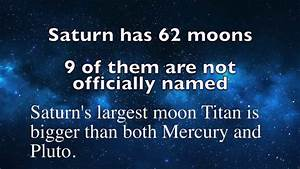 How many moons does Saturn Have? | Answer - YouTube