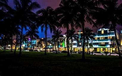Beach Night Desktop South Hotel Usa Wallpapersafari
