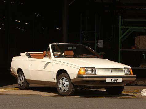 1982 renault fuego renault fuego cabriolet la proposition d heuliez