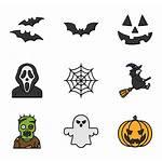 Halloween Transparent Icons Spooky Icon Symbols Iconos