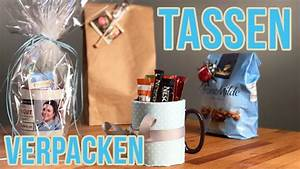Rundes Geschenk Einpacken : tasse einpacken i rundes geschenk verpacken youtube ~ Eleganceandgraceweddings.com Haus und Dekorationen