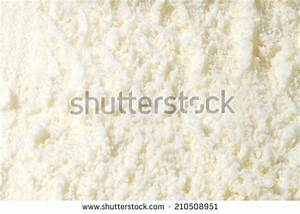 Vanilla Ice Cream Detailed Macro Texture Stock Photo ...