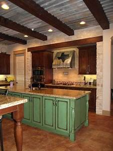 1000 ideas about corrugated tin ceiling on pinterest With kitchen cabinets lowes with galvanized wall art