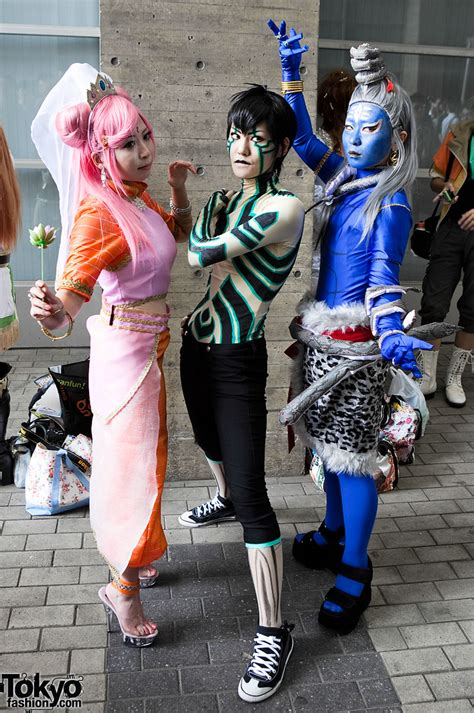tokyo game show cosplay pictures