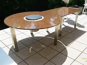 Lotusgrill Selber Bauen : tisch mit grill dekoration bild idee ~ Markanthonyermac.com Haus und Dekorationen