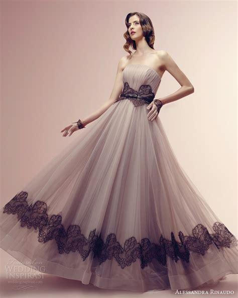 wedding dress with color alessandra rinaudo 2014 wedding dresses wedding