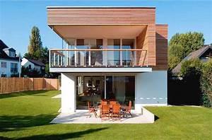 Haus bauen kleine einfamilienh user neubau aussen for Kleine terrasse bauen