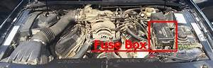 Fuse Box Diagram Lincoln Mark Viii  1997