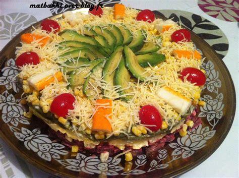 decoration de salade marocaine salades idee deco salade le de matbakhi fr