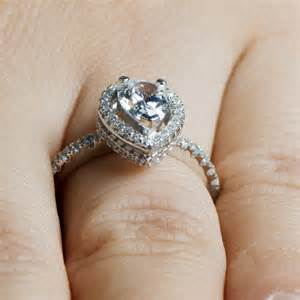 pear halo engagement ring kajana 39 s 2ct cz pear cut halo engagement ring