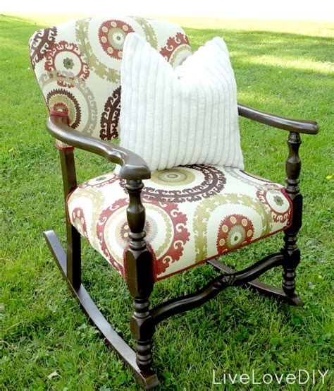 reupholster antique rocking chair antique furniture