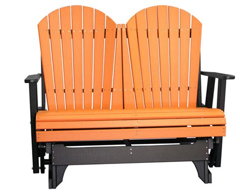 poly glider ohio amish outdoor adirondack furniture four
