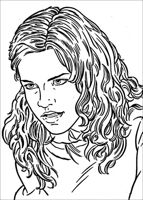 disegni da colorare di harry potter kawaii disegni di harry potter 53