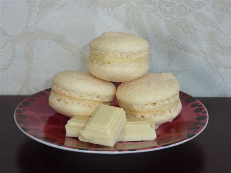 macarons au chocolat blanc cuisine plurielles fr