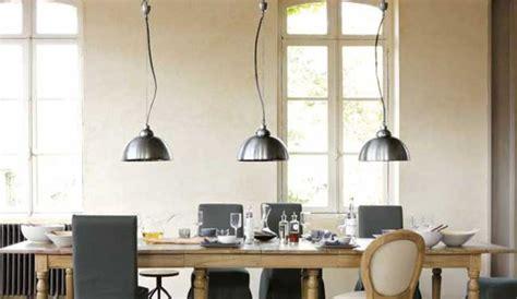 luminaire suspension chambre esprit industriel dans la maison avec un luminaire à petit