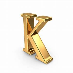 gold capital letter k png images psds for download With gold letter k
