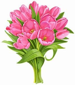 Tulip bouquet clipart - Clipground