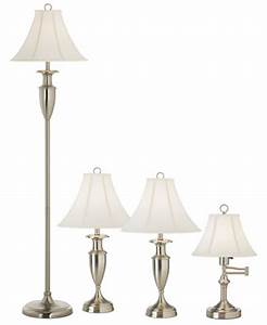 pacific coast freeman collection set of 4 lamps 2 table With macy s floor lamp with table