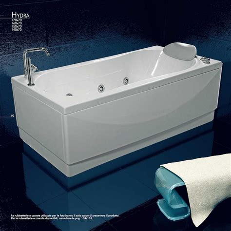 vasche da bagno 170x70 hidra vasca da bagno idromassaggio cm 170x70 jetfun
