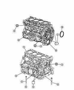 Dodge Journey Engine  Short Block
