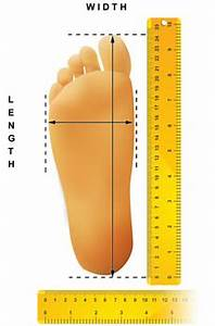 Foot Length To Shoe Size Chart Sizing Chart Grouchy Me Planet