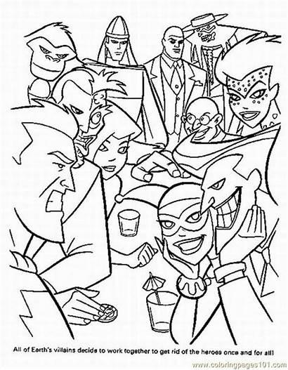 Superhero Coloring Pages Coloringpages101