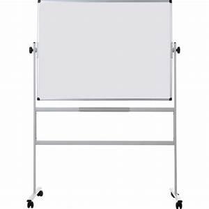 Whiteboard Mit Ständer : bi office revolver whiteboard magnetisch doppelseitig 1200 x 900 mm staples ~ Pilothousefishingboats.com Haus und Dekorationen
