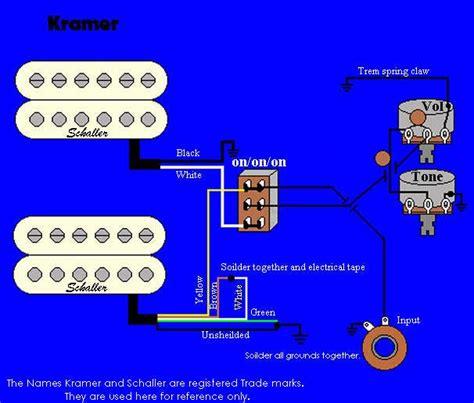 Wiring Diagrams Guitar Humbuckers