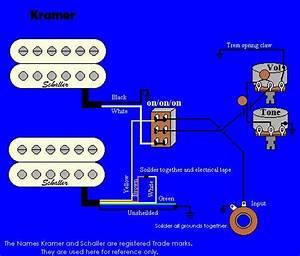 Wiring Diagrams Guitar Humbuckers     Automanualparts Com  Wiring