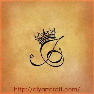 letter   crown tattoo google search tattoo ideas