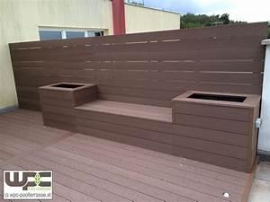 Natürlicher Sichtschutz Terrasse : sichtschutz terrasse wpc sw41 hitoiro ~ Sanjose-hotels-ca.com Haus und Dekorationen